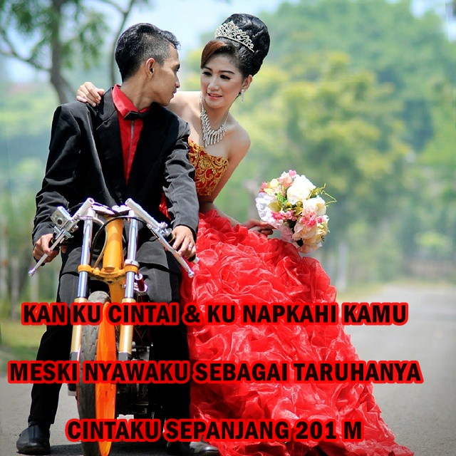 Kata Romantis Anak Racing
