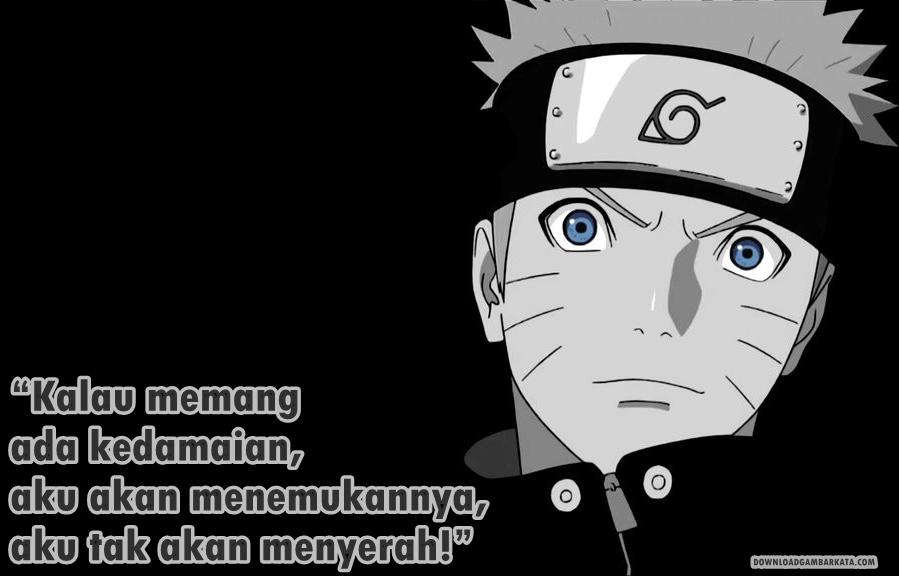 Dp Bbm Gambar Kata Naruto