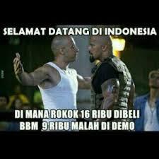 Kumpulan Dp Bbm Meme Indonesia Lucu