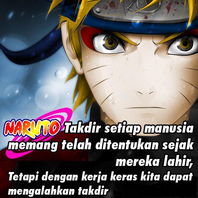 Kumpulan Kata Kata Bijak Naruto Uzumaki