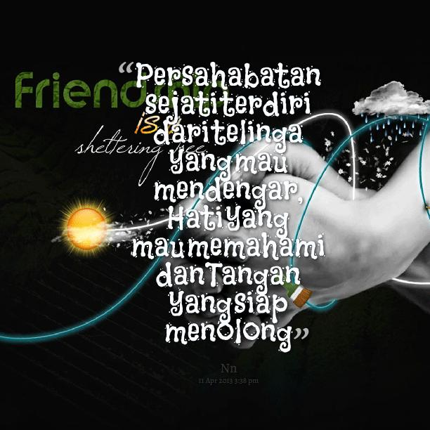 Kumpulan Kutipan Persahabatan