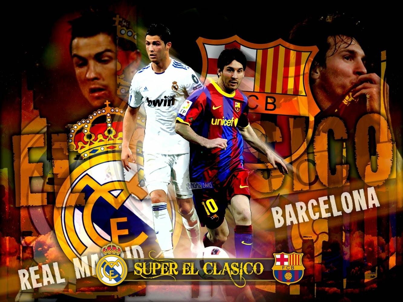 Dp Bbm Keren El Clasico Cristiano Ronaldo vs Lionel Messi
