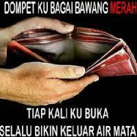 Dp Bbm Sedih Lihat Dompet Di Tanggal Tua