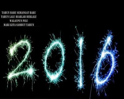 Dp Bbm Ucapan Selamat Tahun Baru 2016