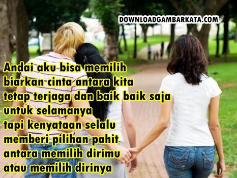 Gambar Kata Cinta Segitiga Menyentuh Hati Terbaru | Download ...