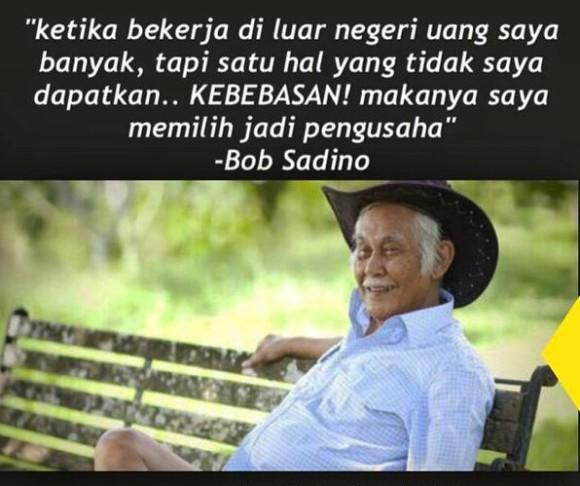 Gambar Dp Bbm Kata Bijak Bob Sadino