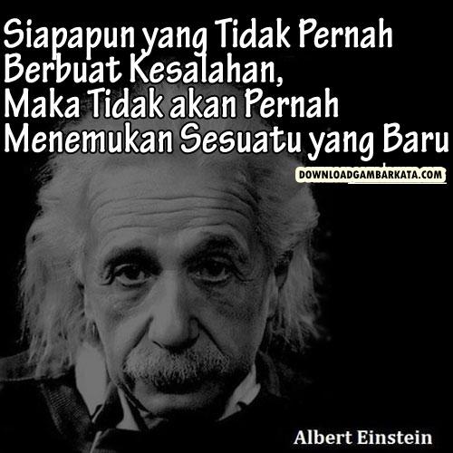 Kata Kata Bijak Motivasi Albert Einstein