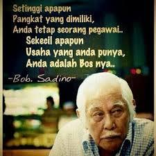 Kumpulan Kata Motivasi Bob Sadino