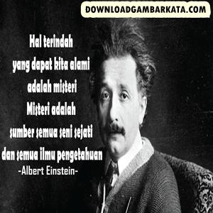 Gambar Kata Motivasi Albert Einstein