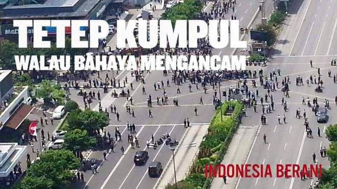 Teroris Gallery: Kumpulan Meme Lucu Teror Bom Sarinah Jalan Thamrin Jakarta