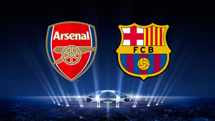 Gambar Wallpaper Arsenal Vs Barcelona Liga Champions