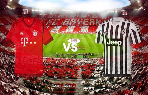 Gambar Kostum Bayern Munchen Vs Juventus Liga Champions Eropa