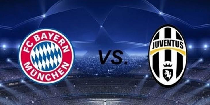 Logo DP BBM Bayern Munchen Vs Juventus 17 Maret 2016