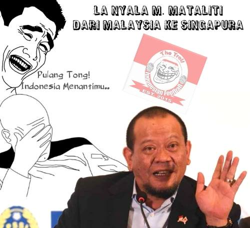 Meme Lucu La Nyalla Mattalitti Kabur Ke Malaysia Dan Singapura