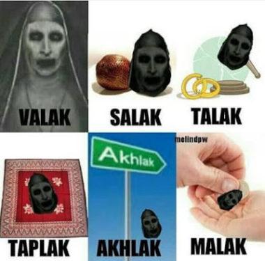 Meme Kocak Plesetan Nama Valak Di Conjuring 2