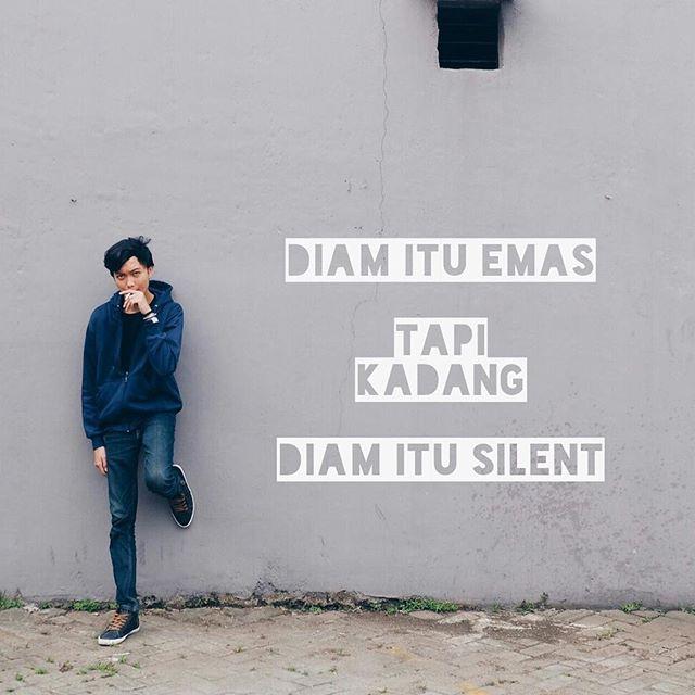 Quotes Kocak Tentang Kata Diam