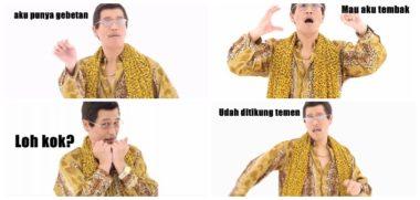 Meme Konyol Goyang PPAP Gebetan Ditikung Temen