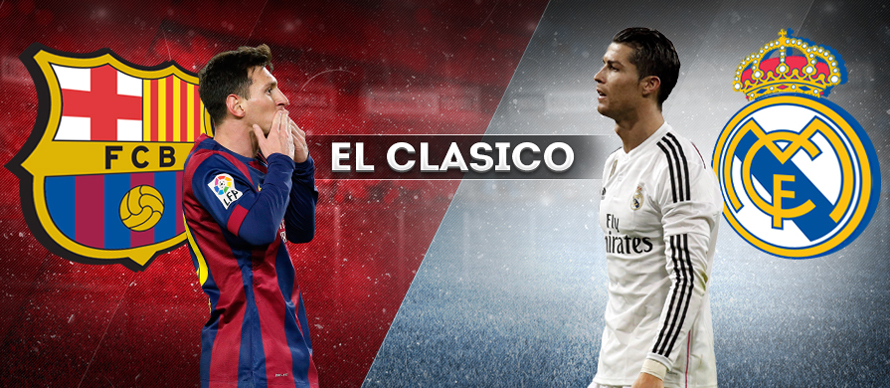 Foto Messi Vs Ronaldo El Clasico Terbaru