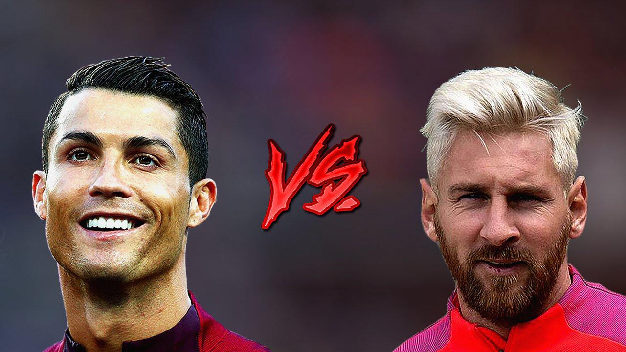 Gambar Wallpaper Messi Vs CR7 EL Clasico Terkeren