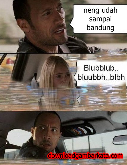Meme Kocak Banjir Bandung