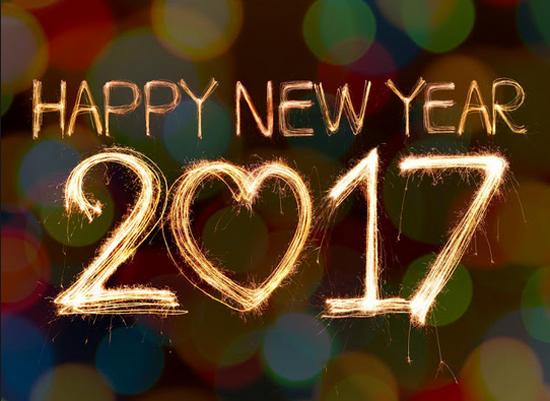 Bonus Gambar Kembang Api Selamat Tahun Baru 2017 HD