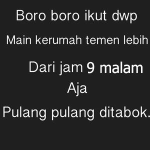 DP BBM DWP Bikin Ngakak