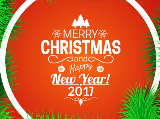 Gambar Kata Selamat Hari Natal Dan Tahun Baru 2017 Download Gambar