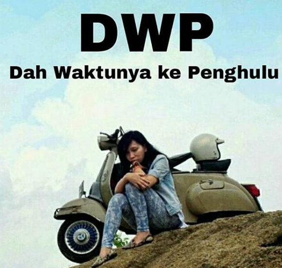 Gambar kata Singkatan DWP Lucu Buat jomblo