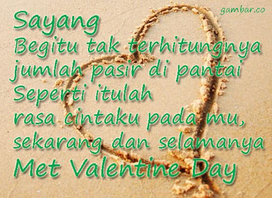 Kata Ucapan Kasih Sayang Di Hari Velentine 2017