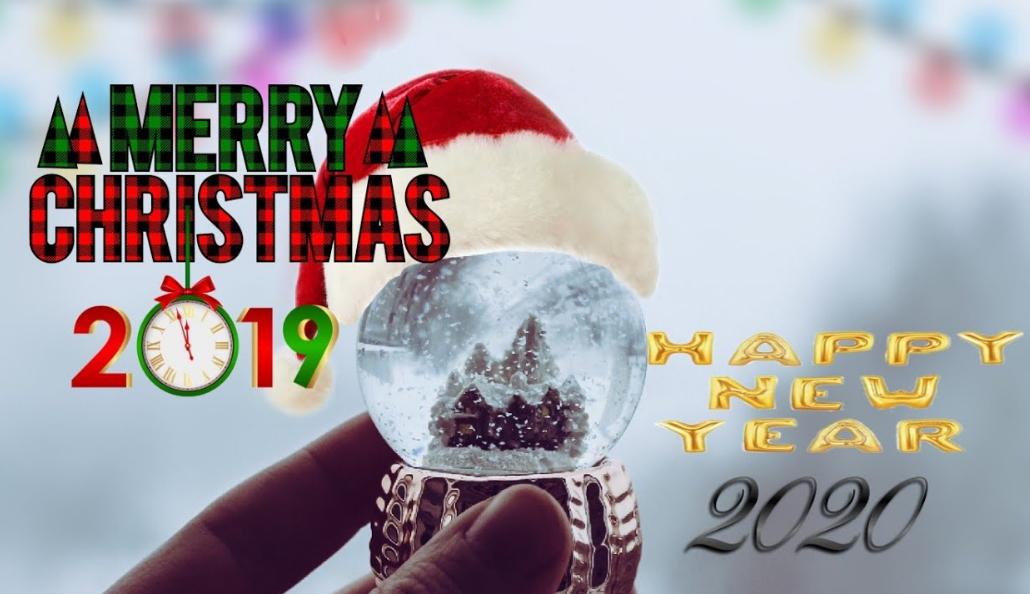 Gambar Kartu Ucapan Natal Dan Tahun Baru 2020   Download ...